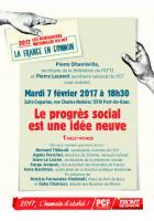 Le progrès social est une idée neuve