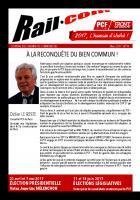 Railcom - Le journal des cheminots communistes